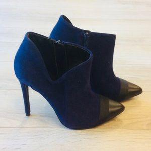 Shoemint Kenza VG Leather Ankle Booties Boots